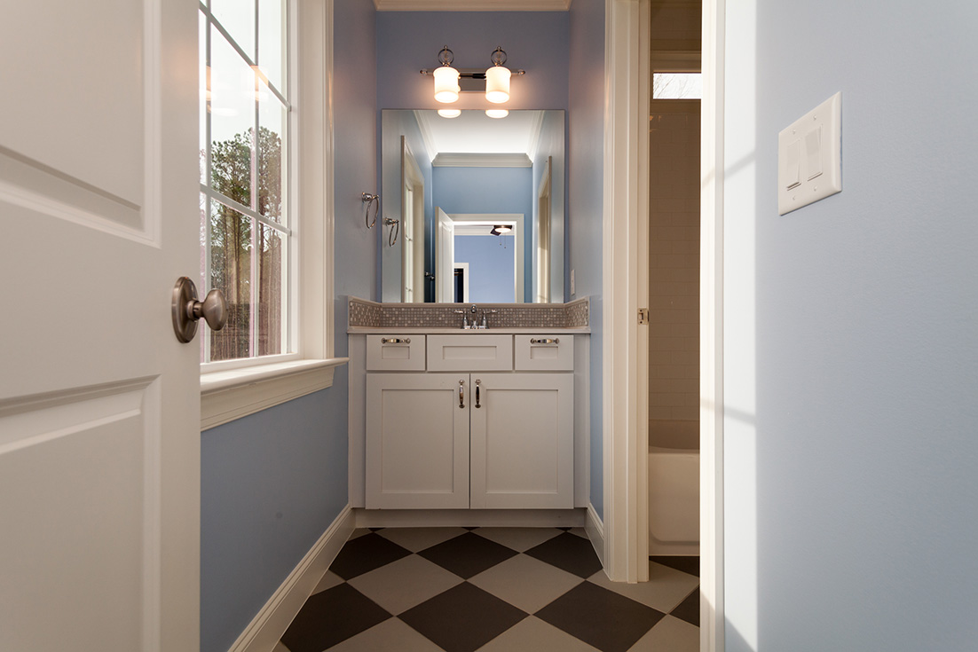 Bathrooms jacobs building company for Bathroom ideas jack jill
